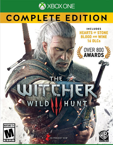WITCHER WILD HUNT COMPLETE EDITION