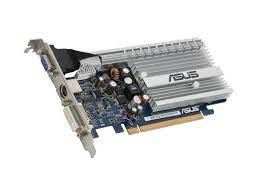 Video Card, GeForce 8400GS, 256MB DDR2, PCI Express, DVI, VGA and S-Video Out, Silent Operation
