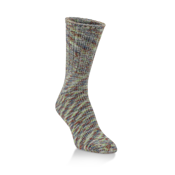World's Softest Socks Ragg Collection Crew-Peaceful Spacedye image