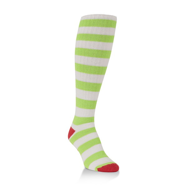 World's Softest Socks Classic Over-The- Calf-Holiday (Elf Stripe) 317 image