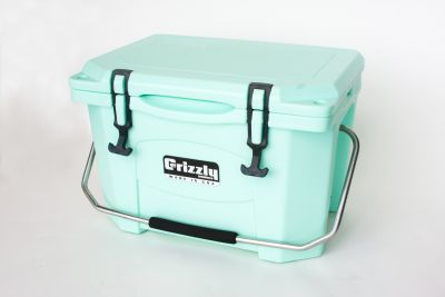 Grizzly 20 Quart Cooler - Seafoam - Image 2: image 2