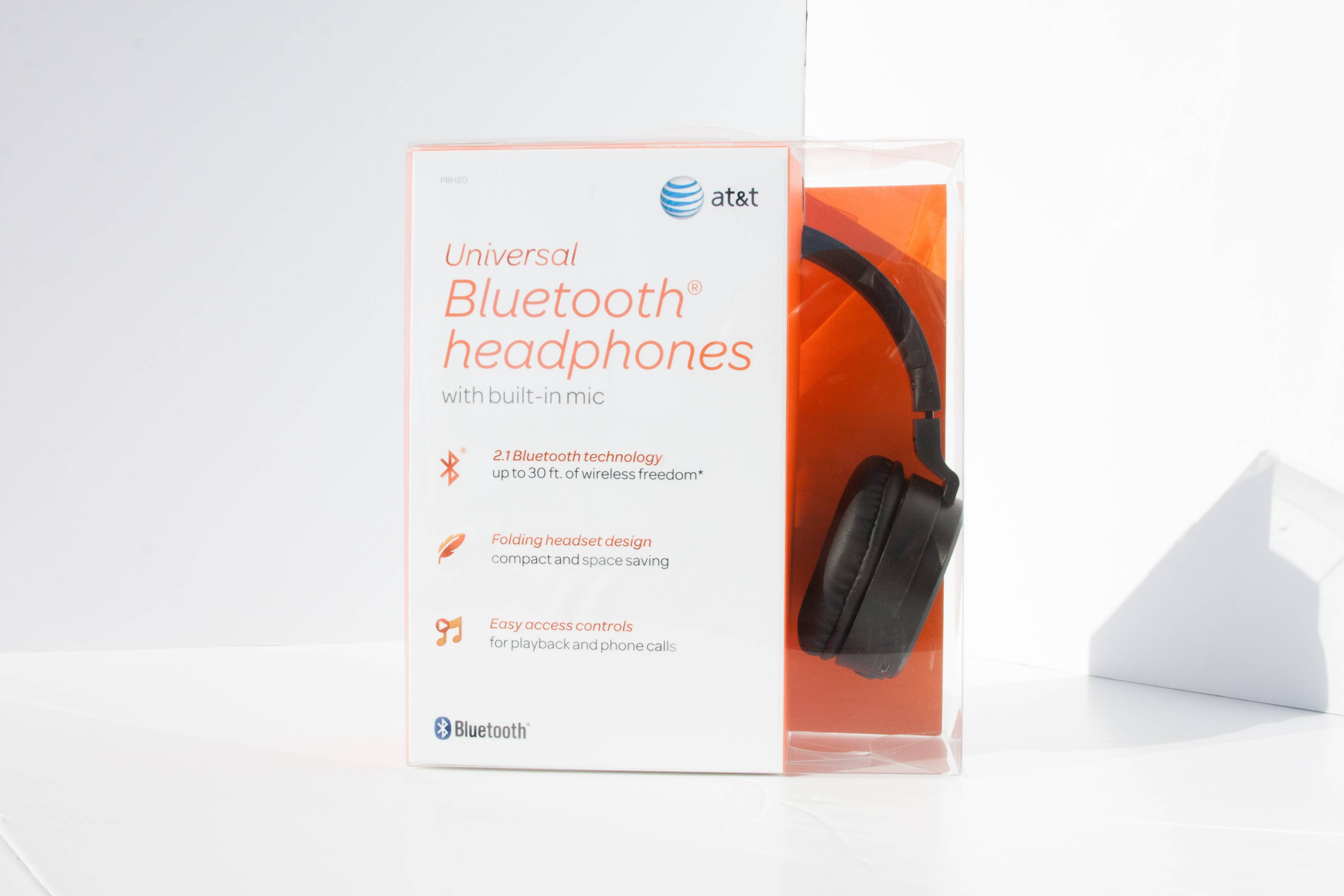 AT&T PBH20 Bluetooth Stereo Headphones image