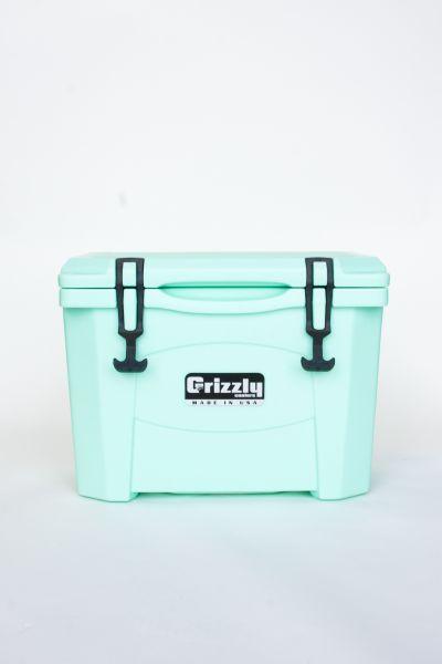 Grizzly 15 Quart Cooler – Seafoam - Image 2: image 2