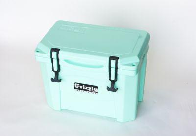 Grizzly 15 Quart Cooler – Seafoam - Image 4: image 4