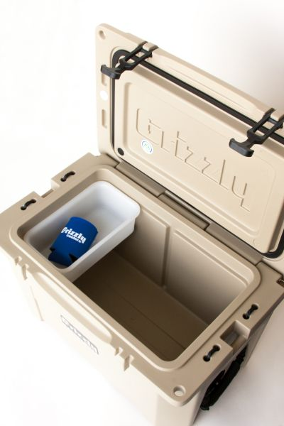 Grizzly 40 Quart Cooler – Tan/Tan - Image 4: image 4