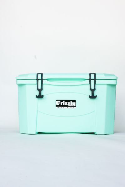 Grizzly 40 Quart Cooler – Seafoam - Image 2: image 2