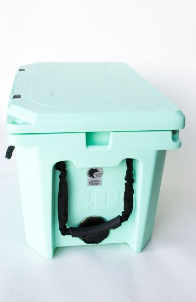Grizzly 40 Quart Cooler – Seafoam - Image 4: image 4