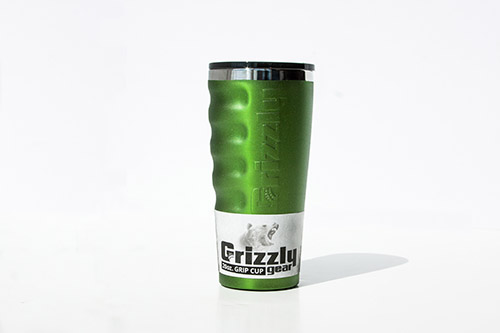 Grizzly 20 Oz. GG Cup- Lime Green - Image 3: image 3