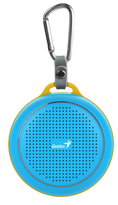 Genius Outdoor Portable Bluetooth Speaker (Blue) SP-906BTBlue - Image 3: image 3