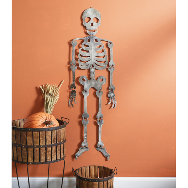 Halloween Skeleton Wall Hanging image