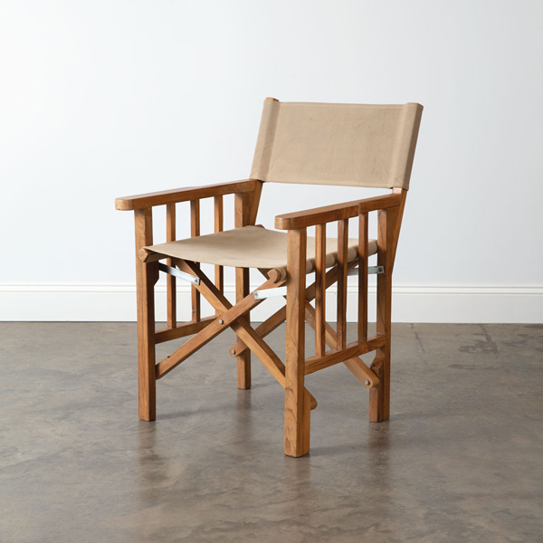 Teakwood Canvas Directors Chair