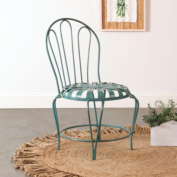 Wrought Iron Daisy Garden Chair