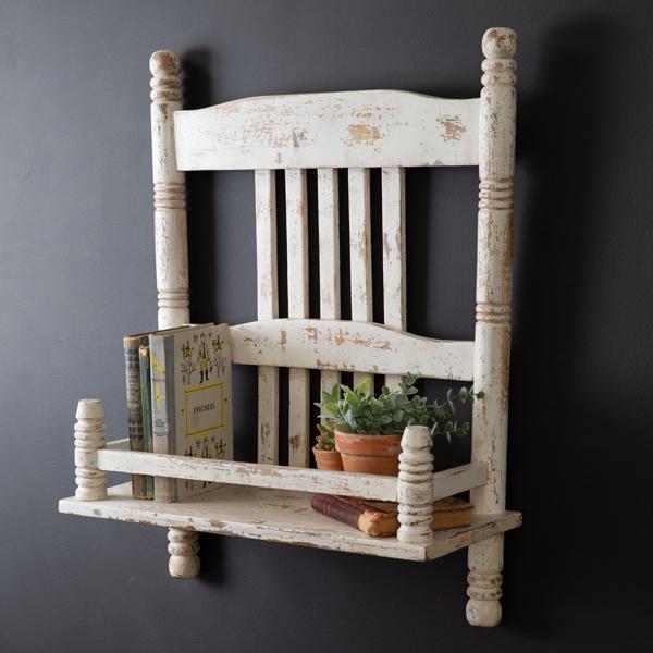 Farmhouse Chair Shelf