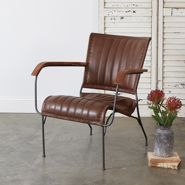 Saddle Leather Chair
