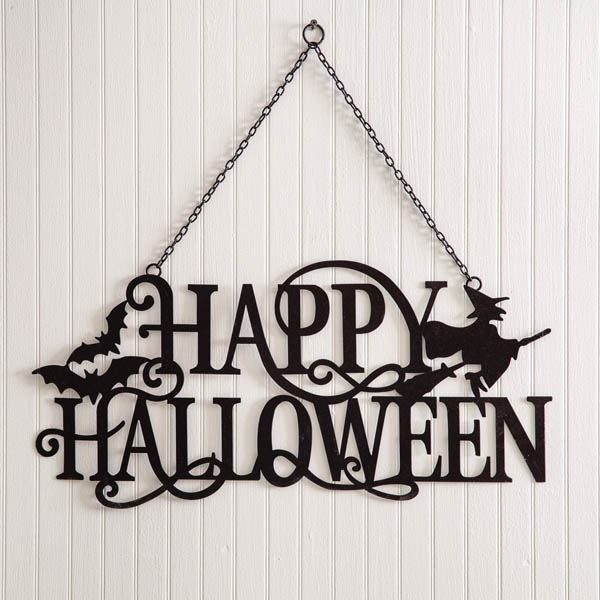 Happy Halloween Hanging Sign image