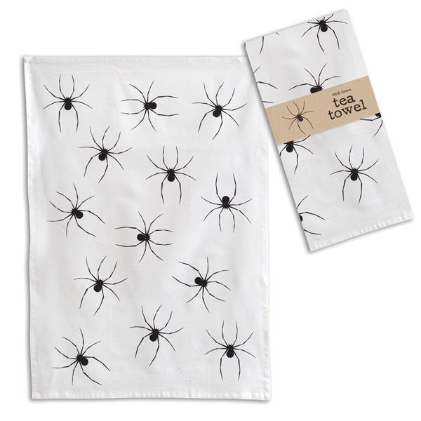 Halloween Spider Tea Towel- Box of 4 image