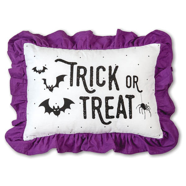 Halloween Trick or Treat Accent Pillow image