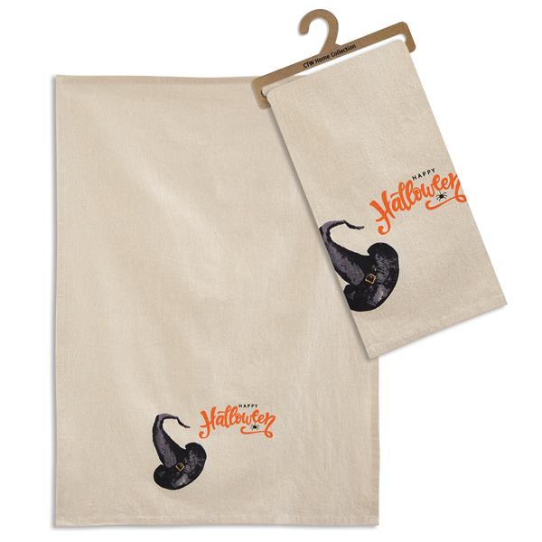 Happy Halloween Tea Towel- Box of 4 image