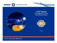 L400 Series LED Cobra Head Roadway