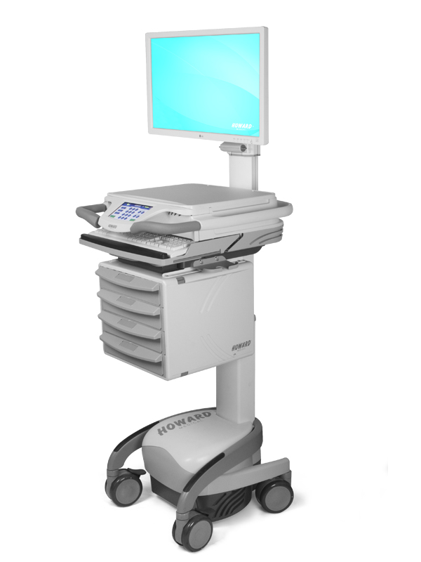 HI-CARE E 4-Tier Cart