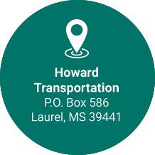 Howard Transportation 107 Nehi Rd Ellisville, MS