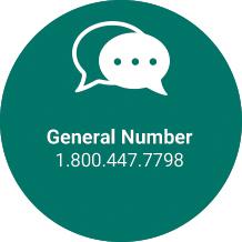 General Number Howard Transportation (800) 447-7798